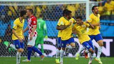 Partido inaugural: Brasil vs. Croacia. Copa Mundial de la FIFA Brasil 2014 | Ximinia