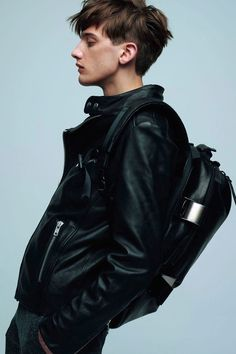 "strangeforeignbeauty: "" Emmanuel O'brien for B'2nd Fall/Winter 2014-15 """