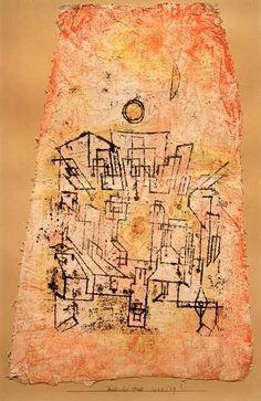 Paul Klee - Arabische Stadt, 1922, 29.