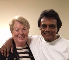 The amazing Johnny Mathis - 80 years young and going strong.  So proud to know him!