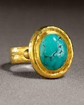 Gurhan turquoise ring