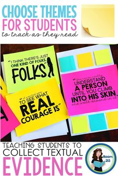 Teaching Students to Find Evidence in Literature: Part 2 - Room 213