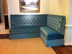 Upholstered Bench by Boxwood Interiors