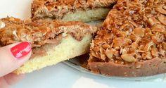Äppelkaka med tosca