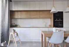 White Wooden Blinds diy blinds for windows.Diy Blinds Roll Up. Kitchen Room Design, Kitchen Dinning, Modern Kitchen Design, Kitchen Interior, New Kitchen, Kitchen Decor, Kitchen Layout, Dining Room, Roller Blinds Kitchen