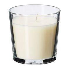SINNLIG Duftkerze im Glas, Vanille, naturfarben