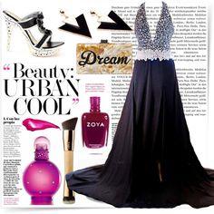 A-line Halter Floor-length Chiffon Prom Dresses/Evening Dresses