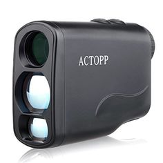 AcTopp Digital Golf Rangefinder Laser Hunting Range Finder Scope with Fog,Horizontal Distance,Height,Scan,Speed Measurement Function,Perfect for Golf ,Hunting and Racing