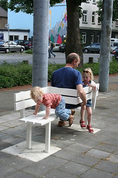 "Jeppe Hein ""Modified Social Benches"""
