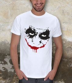Joker Face Silhouette Men TShirt / Special Production by pankarts, $27.90