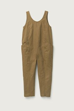 Clyde Jumpsuit in Cotton Canvas