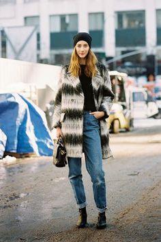 New York Fashion Week AW 2014....Alana (via Bloglovin.com )