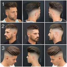 What is your favorite hairstyle? Football Hairstyles, Mens Hairstyles Fade, Cool Hairstyles For Men, Wedding Hairstyles, Boys Fade Haircut, Medium Hair Styles, Short Hair Styles, Teen Boy Haircuts, Barber Haircuts