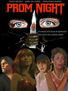 Prom Night Horror Movie Slasher Jamie Lee Curtis