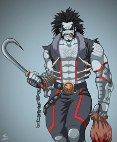 Lobo (Earth-27) commission by phil-cho.deviantart.com on @DeviantArt