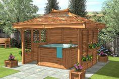 hot tub canopy gazebo | Hot Tub Gazebo