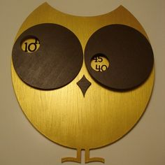 lovely owl clock .. another one for the daycare room...easy to read