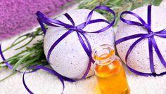 Badekugeln selber machen und Badepralinen Rezept