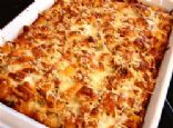 Chicken Parmesan casserole for a great pot luck meal