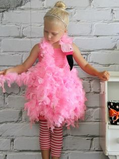 How to Make a Pink Flamingo Halloween Costume | how-tos | DIY