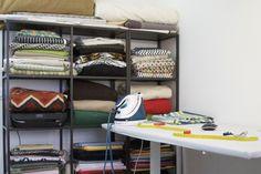 Atelier de Bloup Coussins : tous nos tissus pour vous créer de beaux coussins Made in France.