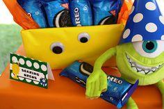 Monster Themed Birthday Party via Kara's Party Ideas   Kara'sPartyIdeas.com #monster #birthday #party (13)