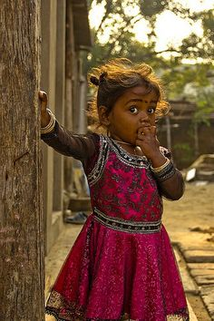 pretty dress. *To find out how to sponsor a disadvantaged child's education in India, please go to: www.heal.co.uk