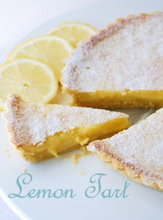 In the mood for food: Lemon Tart Sweet Pie, Sweet Tarts, Cupcakes, Cupcake Cakes, Sweet Recipes, Cake Recipes, Sweet Cooking, Cooking Cake, Healthy Cake