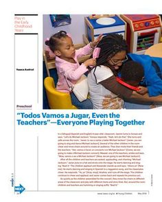 Check out this article from YC on Play With Culturally and Linguistically Diverse Children.