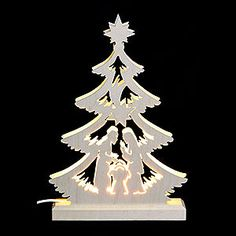 Light Triangle - Nativity Scene - LED by Michael Müller Pallet Christmas Tree, Christmas Wood Crafts, Christmas Nativity Scene, Christmas Ornaments To Make, Christmas Art, Christmas Projects, Holiday Crafts, Christmas Decorations, Christmas 2017