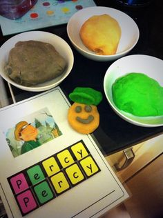 Percy the Park Keeper inspired play dough. Percy The Park Keeper, Spring Term, Role Play Areas, Foundation Stage, Butterworth, Play Dough, Eyfs, Light In The Dark, Reception