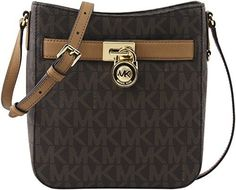 online shopping for Michael Kors Signature PVC Hamilton Traveler Crossbody Bag Vanilla/Luggage from top store. See new offer for Michael Kors Signature PVC Hamilton Traveler Crossbody Bag Vanilla/Luggage Leather Hobo Handbags, Satchel Handbags, Handbags Michael Kors, Cross Body Handbags, Large Crossbody Purse, Leather Crossbody, Handbags On Sale, Purses And Handbags, Michael Kors Savannah