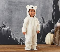 Baby Polar Bear Costume, 12-24 Months