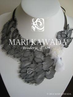 Collier http://www.marikawada.com/creation/ http://www.marikawada.com/online-shop/
