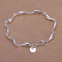 925 jewelry silver plated jewelry bracelet fine fashion bracelet top quality wholesale and retail SMTH209