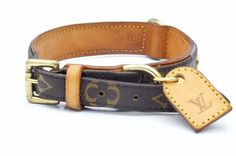 Louis Vuitton Baxter MM Monogram Dog Collar