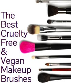 The Best Cruelty-Free and Vegan Makeup Brushes on The Plastic Diaries Beauty Blog. #cfbbloggers #vegan #beauty I have ELF, Urban Decay, and RealTechnicques brushes and I love them all. I have to say that the RT brushes are my favorite!