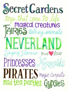 These are few of the magical things...