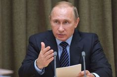 THE WORLD AT LARGE: RUSSIAN PRESIDENT PUTIN HAS GIVEN ORDER TO ALL RUS...