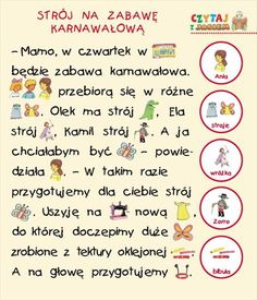 Polish Language, Asd, Education, Speech Language Therapy, Educational Illustrations, Learning, Studying