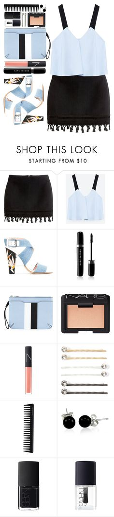 """#875 Kiera"" by blueberrylexie ❤ liked on Polyvore featuring Zara, Fendi, Marc Jacobs, rag & bone, NARS Cosmetics, Vieste Rosa, GHD and Bling Jewelry"