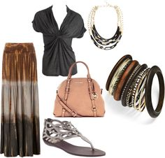 Neutrals, created by thepeacockprincess on Polyvore