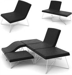 modular design allows all kinds of creative configurations