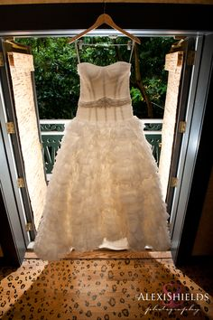 Beautiful Wedding Dress  Alexi Shields Photography