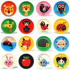 Melamine plates  sc 1 st  Pinterest & Fun animal plates for kids | little ones // toddler \u0026 kiddo ...