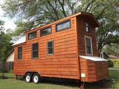 Tiny house on wheels Charlotte north carolina and Window on Pinterest