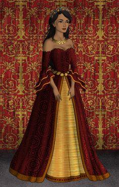 Arianne Martell by SingerofIceandFire.deviantart.com