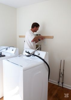 Best How To Install Wall Cabinets Above A Washer And Dryer 400 x 300