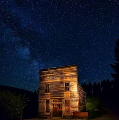 Garnet Ghost Town in #Montana – more great pics on BLM Instagram http://instagram.com/mypubliclands  Photo: Bob Wick, BLM
