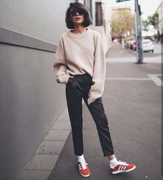 Casual laid back style